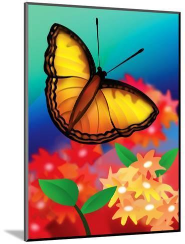 Butterfly--Mounted Art Print