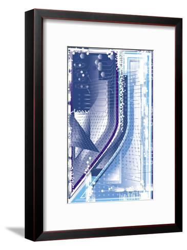 Texture, High Tech--Framed Art Print