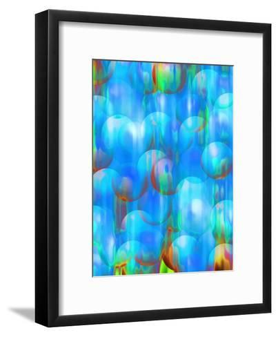 Ball Texture--Framed Art Print
