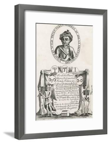 Jonathan Wild the Thief and Thief Taker Who was Executed at Tyburn in 1725--Framed Art Print