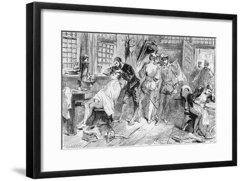 Ambroise Pare French Surgeon Began His Career as an Apprentice Barber-Surgeon in Paris- Figuier-Framed Art Print