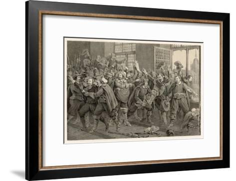 Defenestration of Prague-C^a^ Dahlstrom-Framed Art Print
