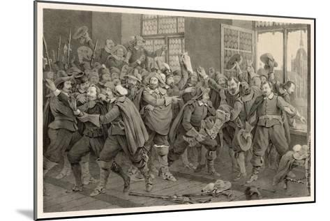 Defenestration of Prague-C^a^ Dahlstrom-Mounted Giclee Print