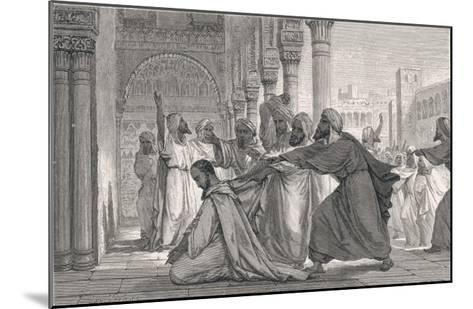 Ibn Rushd, Known in the West as Averroes, Spanish-Islamic Philospher- Figuier-Mounted Giclee Print