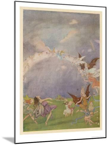 Fairies in Flight-Florence Anderson-Mounted Giclee Print