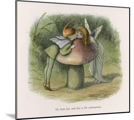An Elf-Fairy Romance: He Finds Her and This is the Consequence-Richard Doyle-Mounted Giclee Print