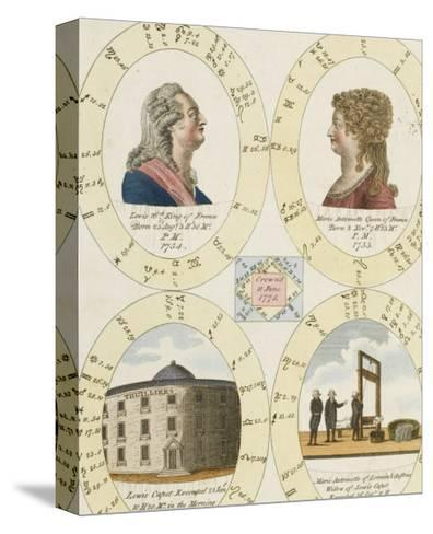 The Nativities of Louis XVI and Marie Antoinette Show Their Tragic Destiny- Dodd-Stretched Canvas Print