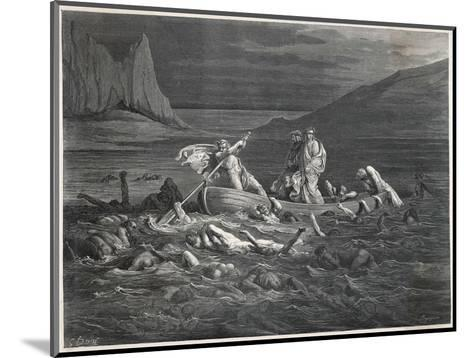 Virgil and Dante Cross the Styx-Dupreyrou-Mounted Giclee Print