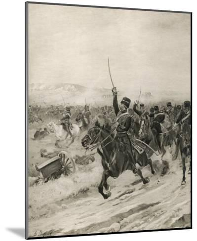 The Charge of the Light Brigade, into the Valley of Death!-Henri Dupray-Mounted Giclee Print