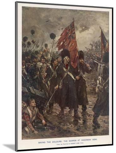 The Guards Saving the Colours-Robert Gibb-Mounted Giclee Print