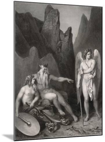Satan at the Court of Chaos-Allais-Mounted Giclee Print