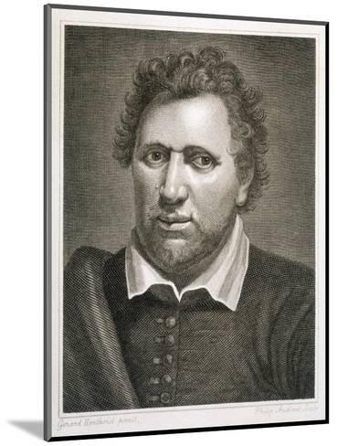 Ben Jonson Writer-Philip Audinet-Mounted Giclee Print
