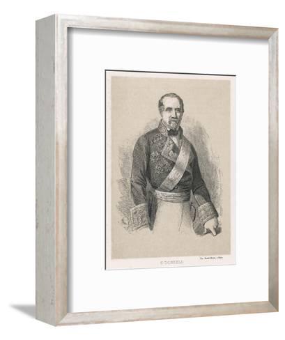 Leopoldo O'Donnell Conde De Lucena Spanish Marshall and Politician of Irish Descent- Cillot-Framed Art Print