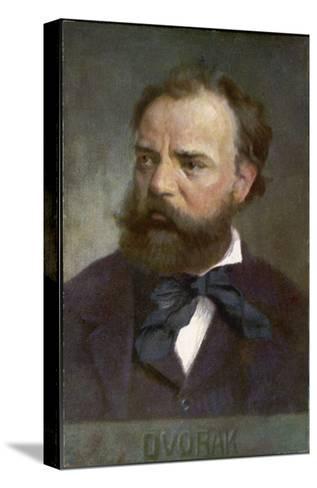 Antonin Leopold Dvorak Czech Musician- Eichhorn-Stretched Canvas Print