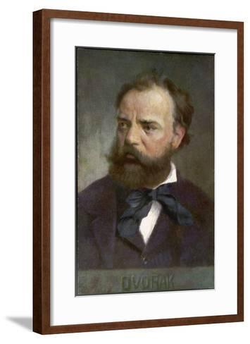 Antonin Leopold Dvorak Czech Musician- Eichhorn-Framed Art Print