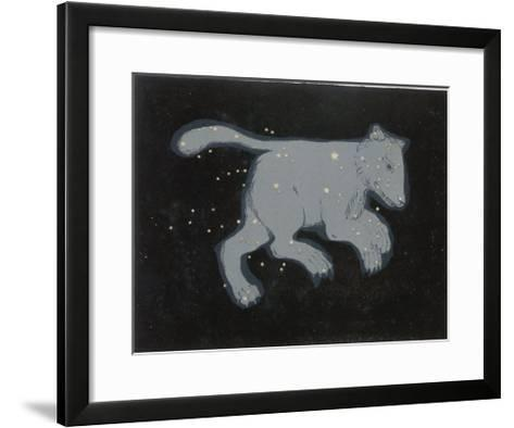 Ursa Major: The Constellation is Composed at First Sight of Seven Conspicuous Stars-Charles F^ Bunt-Framed Art Print