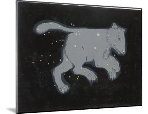 Ursa Major: The Constellation is Composed at First Sight of Seven Conspicuous Stars-Charles F^ Bunt-Mounted Giclee Print