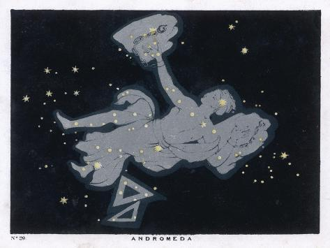 The Constellation of Andromeda-Charles F^ Bunt-Stretched Canvas Print