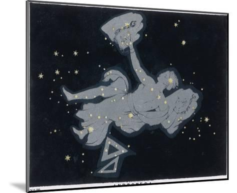 The Constellation of Andromeda-Charles F^ Bunt-Mounted Giclee Print