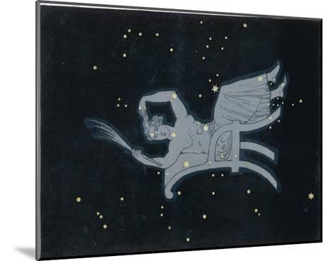 The Constellation of Cassiopeia a Woman Seated-Charles F^ Bunt-Mounted Giclee Print