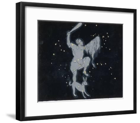 The Constellation of Orion One of the Most Brilliant in the Heavens-Charles F^ Bunt-Framed Art Print