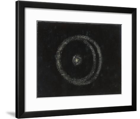 The Great Nebula of the Solar System-Charles F^ Bunt-Framed Art Print