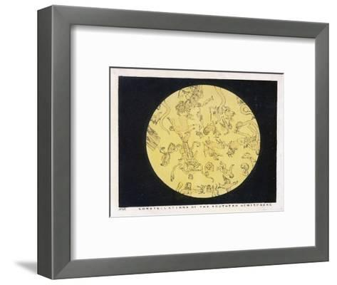Constellations of the Southern Hemisphere-Charles F^ Bunt-Framed Art Print