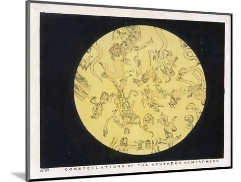 Constellations of the Southern Hemisphere-Charles F^ Bunt-Mounted Giclee Print