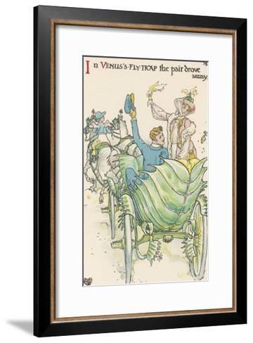 Venus's Fly-Trap-Walter Crane-Framed Art Print
