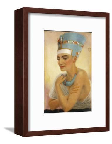 Queen Nefertiti-Winifred Brunton-Framed Art Print