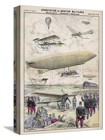 Various Aircraft 1912-G. Bigot-Stretched Canvas Print