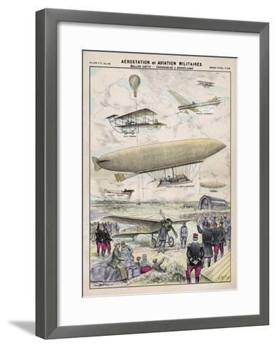 Various Aircraft 1912-G. Bigot-Framed Art Print