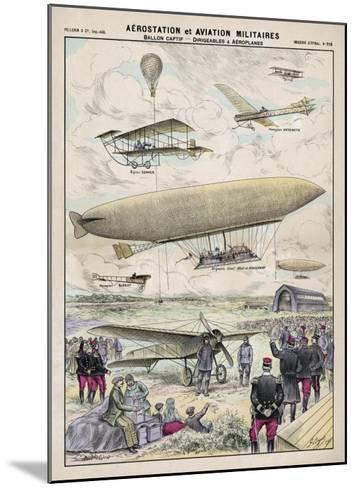 Various Aircraft 1912-G. Bigot-Mounted Giclee Print