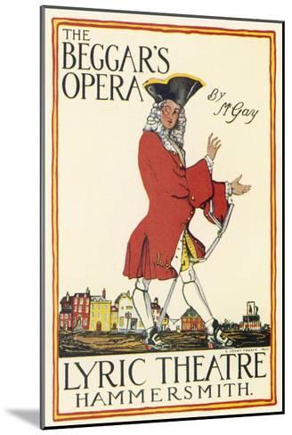 Poster for Production at the Lyric Theatre Hammersmith-Charles Lovat-Mounted Giclee Print