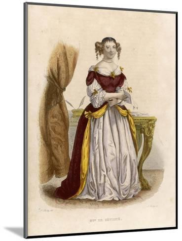 Marie De Rabutin-Chantal Marquise Known as Madame De Sevigne-A. Boilly-Mounted Giclee Print