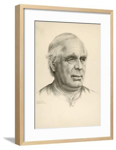 Sebastian Kneipp Bavarian Priest Promoter of Hydropathy (Cold Water Cure) and Herbalism-Gertin Browais-Framed Art Print