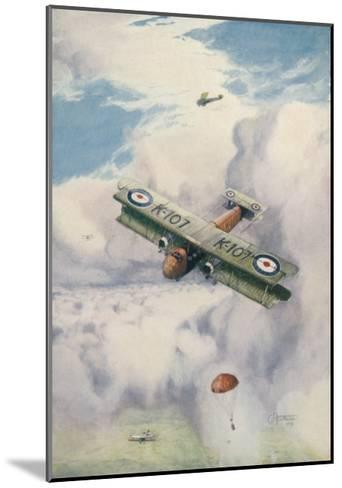 Carrying Mail by Air is Seen as a Real Possibility-G.h. Davis-Mounted Giclee Print
