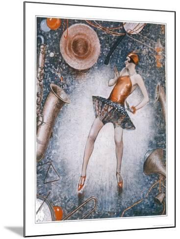The Charleston is Generally a Very Revealing Dance-Anne Anderson-Mounted Giclee Print
