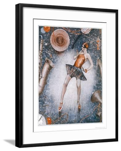 The Charleston is Generally a Very Revealing Dance-Anne Anderson-Framed Art Print