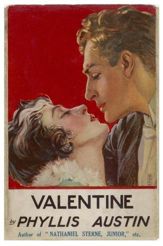 """Valentine"" (Phyllis Austin) They Kiss- Doco-Stretched Canvas Print"