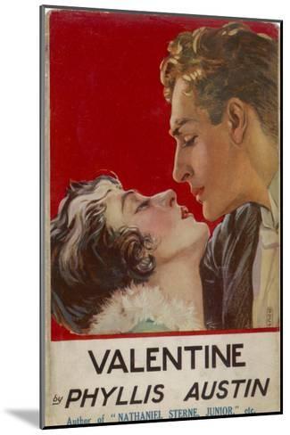 """Valentine"" (Phyllis Austin) They Kiss- Doco-Mounted Giclee Print"
