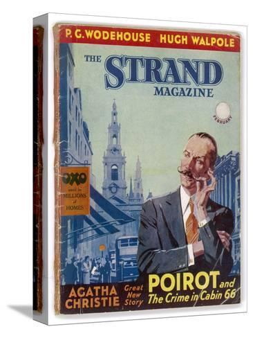 The Strand: Agatha Christie's Hercule Poirot-Jack M^ Faulks-Stretched Canvas Print