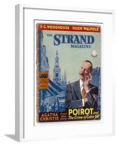The Strand: Agatha Christie's Hercule Poirot-Jack M^ Faulks-Framed Art Print
