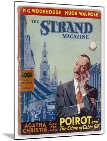 The Strand: Agatha Christie's Hercule Poirot-Jack M^ Faulks-Mounted Giclee Print