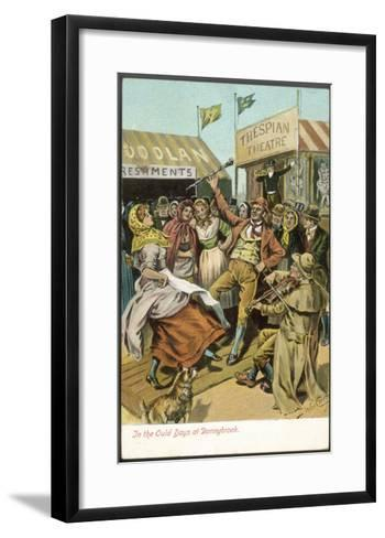 The Fair Held Until 1855 at Donnybrook-John Carey-Framed Art Print