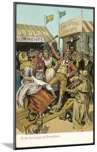 The Fair Held Until 1855 at Donnybrook-John Carey-Mounted Giclee Print