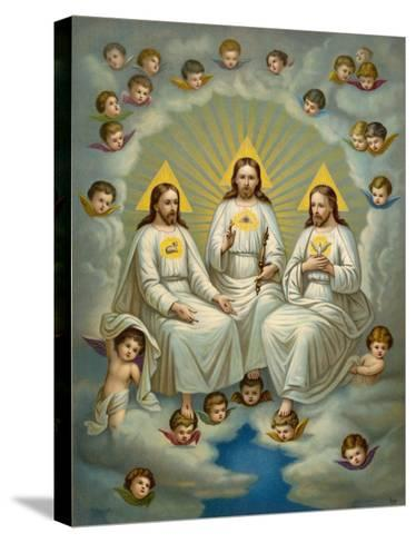 The Holy Trinity- Leiber-Stretched Canvas Print