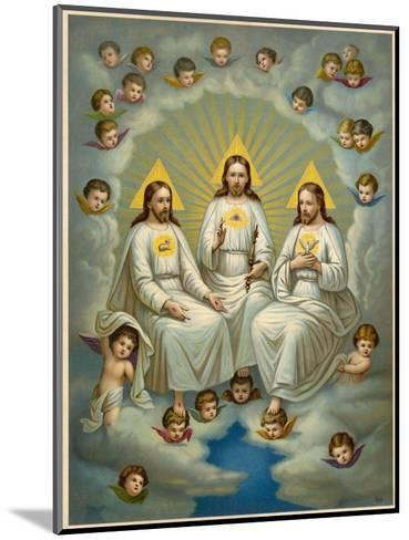The Holy Trinity- Leiber-Mounted Giclee Print