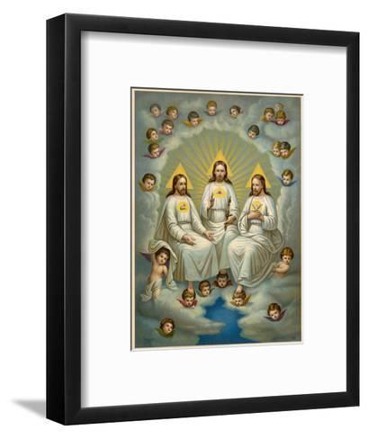 The Holy Trinity- Leiber-Framed Art Print