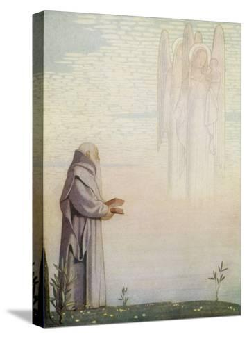 Archbishop of Canterbury Saint-Cayley Robinson-Stretched Canvas Print